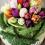 Овощные идеи для украшения стола